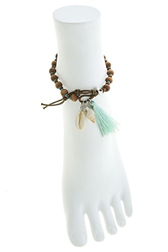baubles-co-shell-accent-tassle-anklet-brown