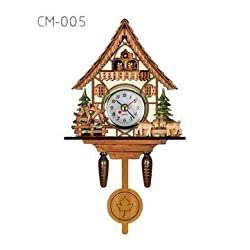 Cuckoo Wall Clock - Sports & Outdoor - 1PCs