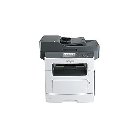 Lexmark MX511dhe Laser 45 ppm 1200 x 1200 dpi A4 - Impresora multifunción (Laser, 1200 x 1200 dpi, 350 Hojas, A4, Impresión Directa, Gris, Blanco)