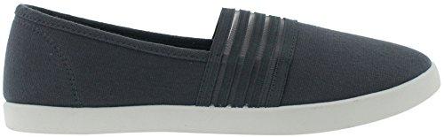 Ladies On Polka Capelli Dot Shoes Slip Printed New York Dark Grey qBB0xE4