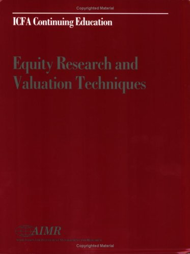 Equity Research and Valuation Techniques