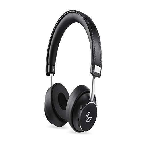 GEG Bluetooth Headphones Rotatable Wireless on Ear Headphone with Powerful Bass,Aptx Audio Technology,Stereo Sound,21Hours Play time for Android IPad iPod iPhone Windows Phone BlackBerry