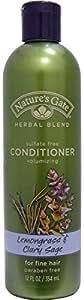 Nature's Gate, Conditioner, For Fine Hair, Lemongrass Clary Sage, 12 fl oz (354 ml)