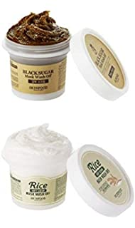 como usar black sugar mask wash off