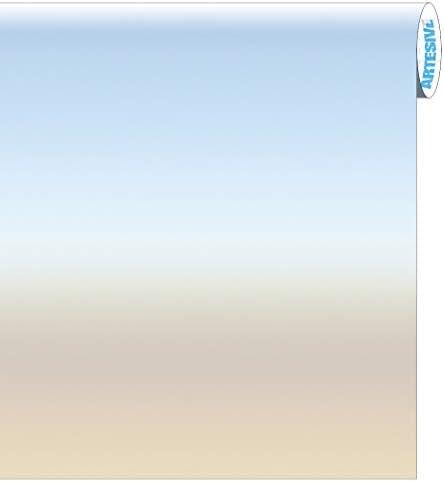 Artesive G-02 Opacizante más ancho. 50 cm al metro lineal – Película adhesiva para cristales de interior para protección privada ofuscante decorativa: Amazon.es: Bricolaje y herramientas
