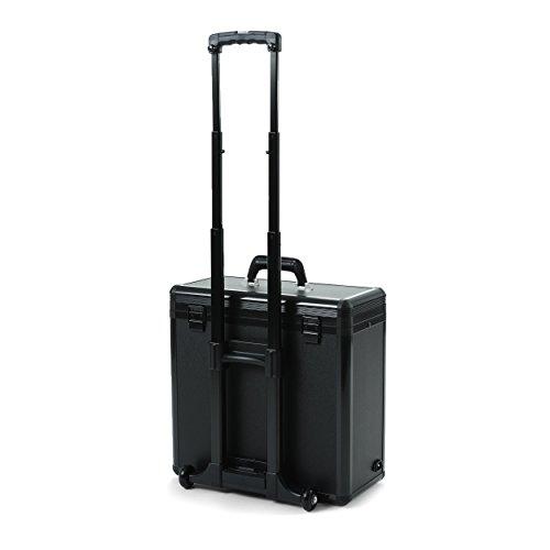 DICOTA DataBox XL Trolley HP 100 (für Notebooks bis 43,4 cm) Notebook und Drucker im robusten Koffer schwarz
