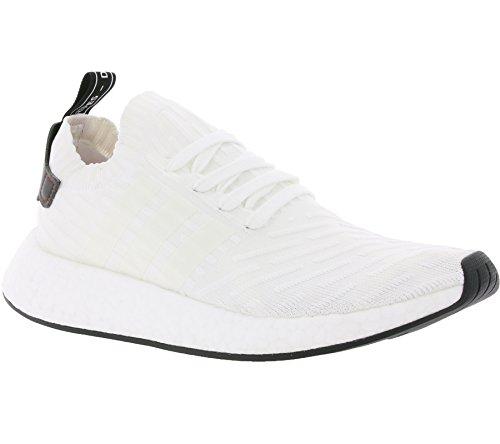 Adidas NMD_r2 PK, Zapatillas de Deporte Unisex Adulto Blanco (Ftwbla / Negbas / Ftwbla)