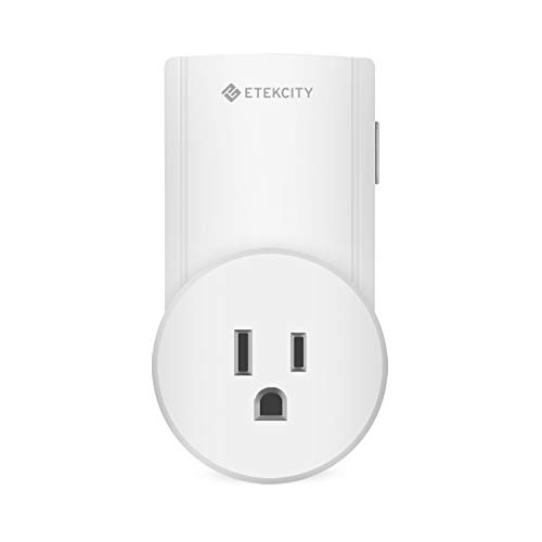 Etekcity Single Outlet for ZAP L Series Remote Control Outlet, 1 Outlet Only, No Remote ()