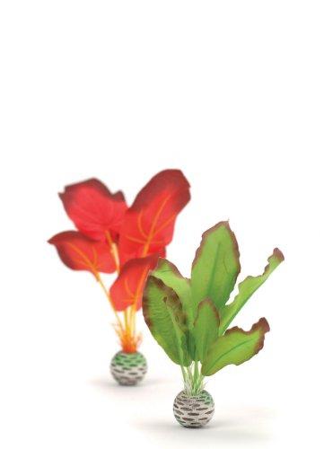 - biOrb Silk Plant Set Small Green & red