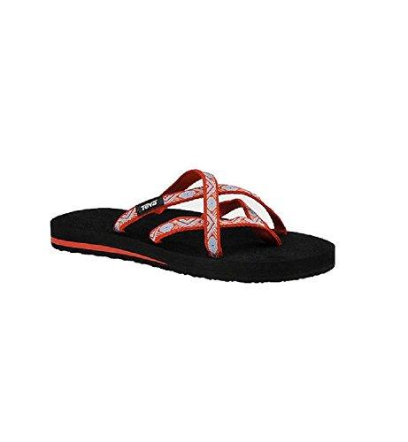 Ss18 Flops Red Teva Olowahu Islnd Women's Flip xfnaqgU