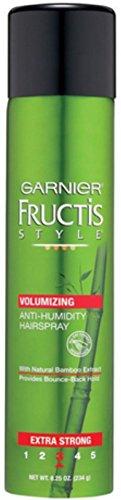 Garnier Fructis Style Volumizing Anti-Humidity Hairspray Extra Strong 8.25 oz (Pack of 2) by Fenny World Store (Image #1)