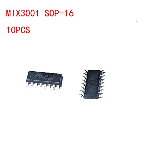Ebotun 10pcs/lot MIX3001 SOP-16 Audio Amplifier IC Chip