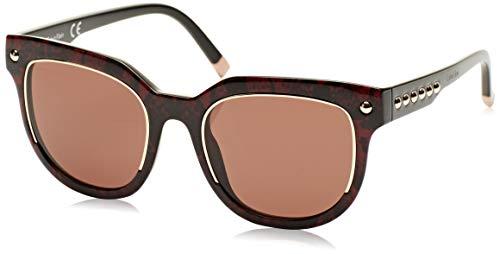 Calvin Klein Plastic Frame Brown Lens Ladies Sunglasses (Calvin Klein Plastic Frames)