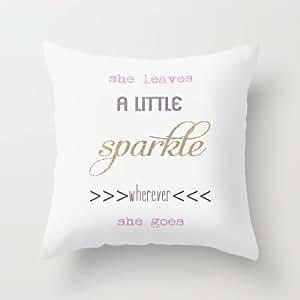18*18inches Good design pillow cover Sparkles Throw Pillow