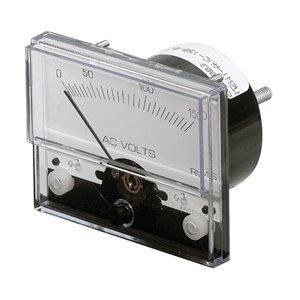 Paneltronics Ac Voltmeter - Paneltronics Analog AC Voltmeter - 0-300VAC - 1-1/2