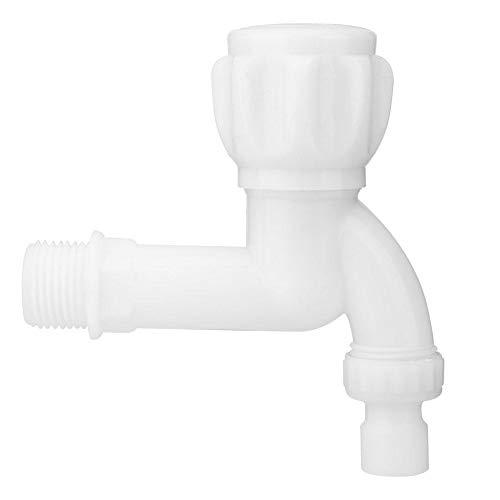 Qinlorgo Plastic Faucet White Washing Machine Tap Kitchen Faucet G1/2