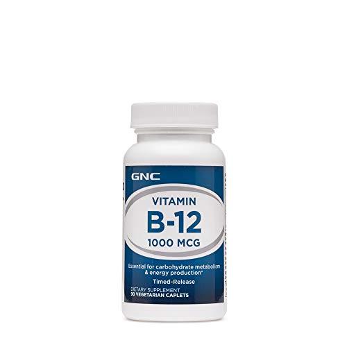 GNC Vitamin B-12 1000 MCG - Gnc B-12 Vitamins
