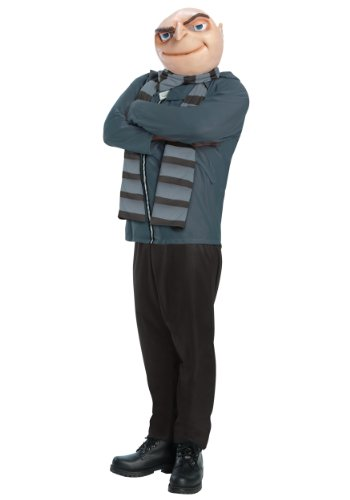 [Rubie's Costume Despicable Me 2, Gru and Mask, Multicolor, Standard] (Despicable Me 2 Costumes Gru)