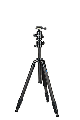 Kenro Karoo TR401 Ultimate Travel Tripod Monopod Kit in Carbon Fibre for Professional Photography