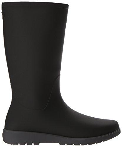 Kamik Women's Jessie Wellington Boots Black and Charcoal Grey 5asBKiQDn