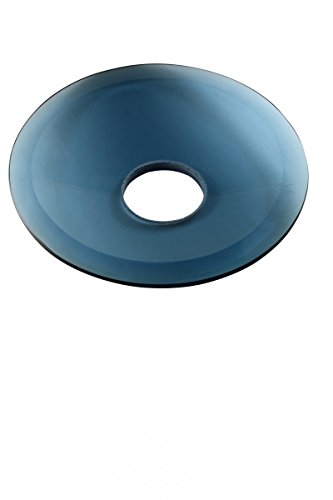 (Replacement Waterfall Faucet Blue Glass Disc Plate | Renovator's Supply)