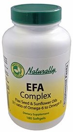 1000 mg EPT Complex (180 capsules) de lin et les huiles de graines de tournesol Idéal Ratio 3:1 d'oméga-6 et oméga-3 les acides gras essentiels