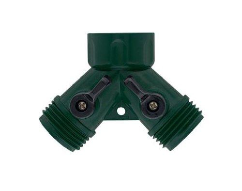 5 Pack - Orbit Water Faucet Hose Shut off Valve - Dual Port