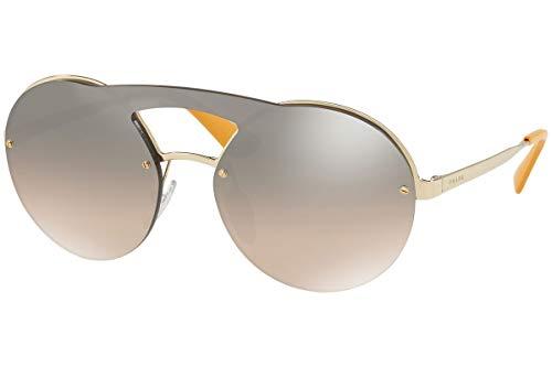 Prada PR65TS Sunglasses Pale Gold w/Brown Gradient 36mm Lens ZVN4P0 SPR65T PR 65TS SPR 65T ()