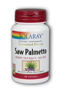 Saw Palmetto Berry Extract 160 мг - 60 - Softgel