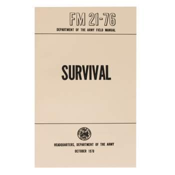 Rothco Army Military Survival Handbook | FM 21-76 Army Survival Field Manual | Survival Guide