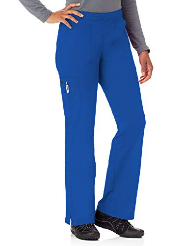 Bio Stretch 19202 Women's Mega Pocket Cargo Scrub Pant Galaxy L ()