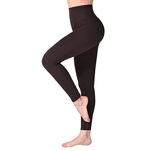 SINOPHANT Legging met Hoge Taille voor Vrouwen – Boterachtig Zacht Niet Transparante Legging Voor Buikcontrole, Plus…