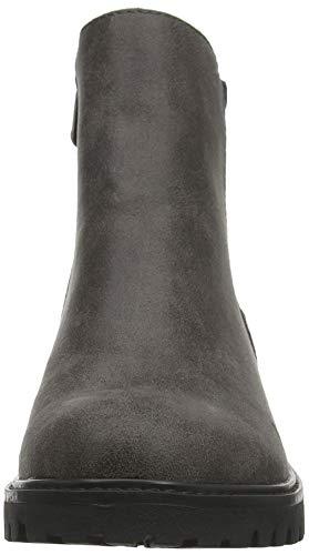 charcoal Blowfish black Ralo Woven 077 Femme Noir Microfiber Chelsea Boots XRZwvq