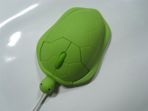 Domire Tortoise Model High Precision Optical Mouse For PC Computer Laptop (Green)