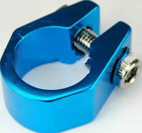 zong for Old School Tuf Neck Style BMX Bicycle seat clamp 25.4mm (1'') - Blue Anodized