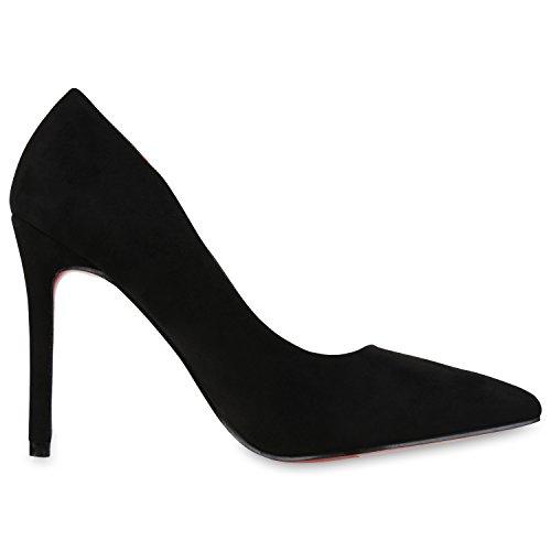 napoli-fashion - Cerrado Mujer negro rojo