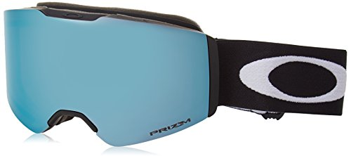 Oakley Fall Line Snow Goggles, Matte Black Frame, Prizm Sapphire Lens, Medium (Oakley Fällen)