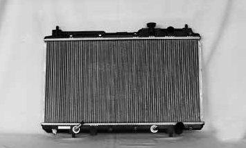 TYC 2051 Honda CRV 1-Row Plastic Copper//Aluminum Replacement Radiator