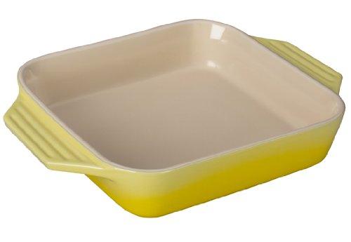 Le Creuset Stoneware Square Dish, 9.5-Inch,