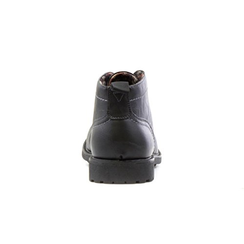 Beckett Mens Black Ankle Lace Up Boot Black Jav576sADt
