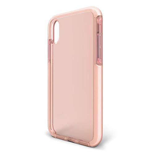 BodyGuardz - Ace Pro Case for iPhone Xr, Extreme Impact and Scratch Protection for iPhone Xr (Pink/White)