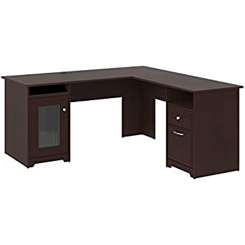 Amazon Com Premium L Shaped Desk Modern Stylish