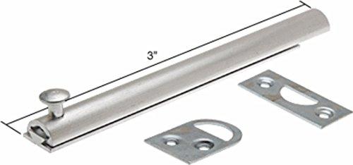 Slide Bolt, 3'' Long, Aluminum by C.R. Laurence (Image #2)