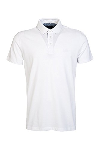 BOSS Poloshirt Firenze 46 50284625 Herren, Weiß, L