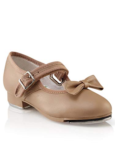 Capezio Youth Mary Jane Tap Shoe, Caramel-10 M Tod
