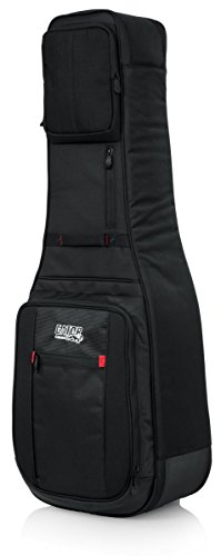 Gator Cases Pro-Go Ultimate Double Guitar Gig Bag; Holds (2) Electric Guitars (G-PG ELEX (Elec Case)