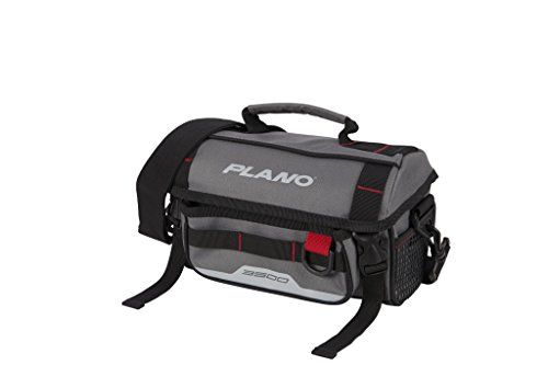 (Plano PLAB35120 3500 Size Softsider Tackle Bag, Grey, Premium Tackle Storage )