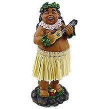 """KC Hawaii Braddah with Ukulele Mini Dashboard Doll 4"""""""