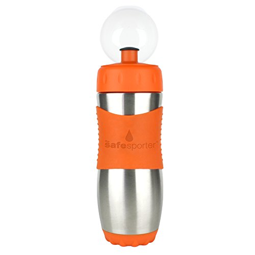 Kid Basix by New Wave Safe Sporter-Stainless Steel Lunch & Sport Water Bottle