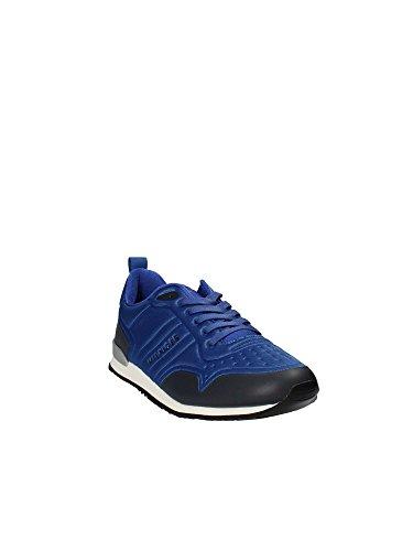 FM0FM01434 Hilfiger Uomo Tommy 40 Sneakers Blu Ow1qW5Bg